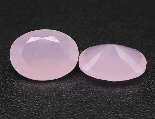 Milky Pink Large Glass Gems