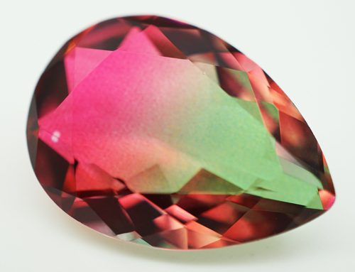 Watermelon Glass Gemstones