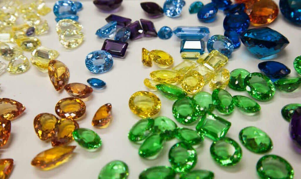 WeJEWELER loose Moissanite, cubic zirconia, lab created gemstones manufacturer wholesaler