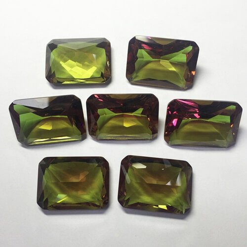glass color change gemstones