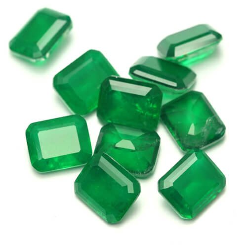glass imitae natural gemstones