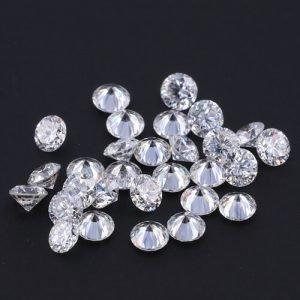 lab grown CVD hpht melee diamond