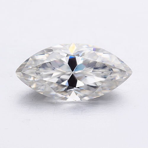 loose Moissanite marquise cut