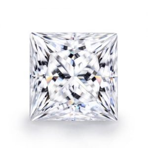 loose moissanite princess cut