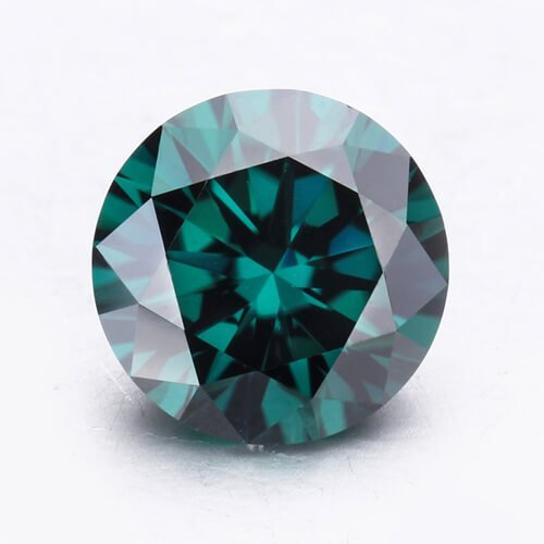 loose Moissanite green color
