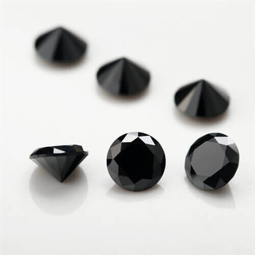 nano black gemstones