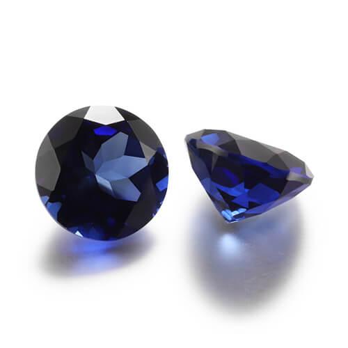 lab grown blue sapphire 2