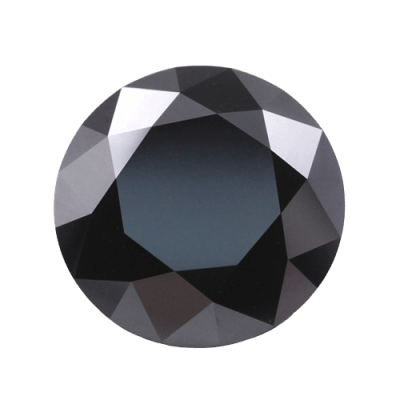 loose Moissanite black Moissanite 1