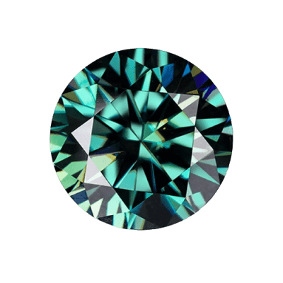 loose Moissanite green Moissanite 5