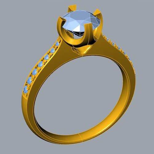 custom jewelry CAD design