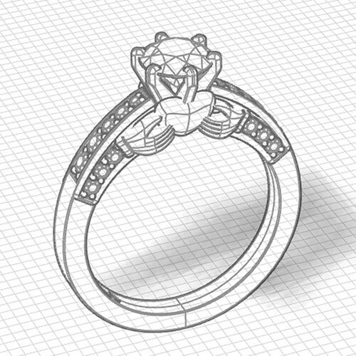 custom jewelry draft design