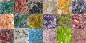 lab created gems raw material